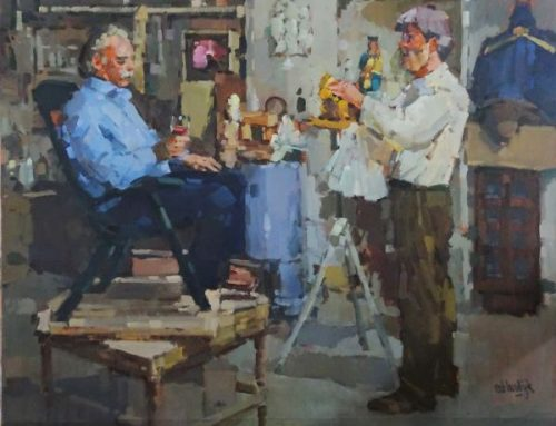 Beeldhouwers-atelier