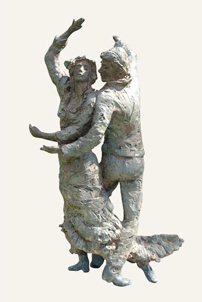 Rob-Houdijk-Flamenco-III-brons-H-80-cm