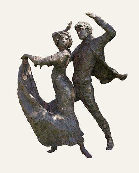 Rob-Houdijk-Flamenco-IV-brons-H-95-cm