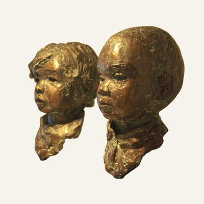 Rob-Houdijk-Isabella-en-Annique-brons-H-25-cm