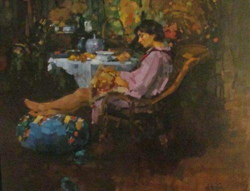 Lezen op het atelier