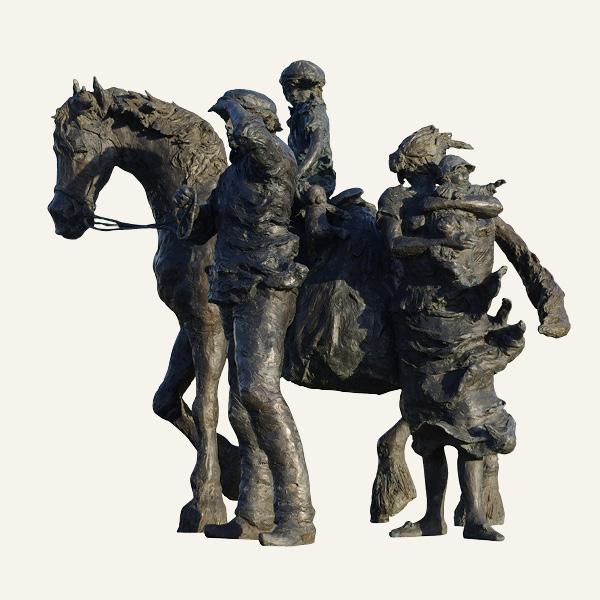 Rob-Houdijk-Pioniers-brons-H-160-cm
