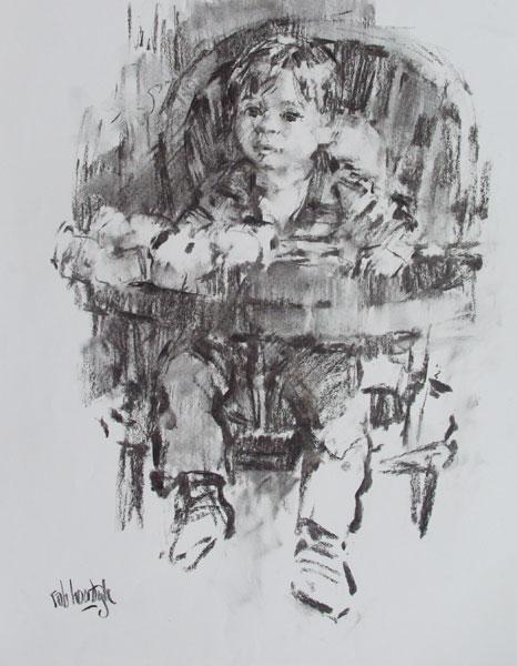 Rob-Houdijk-Sebastiaan-I-houtskool-70-x-50-cm