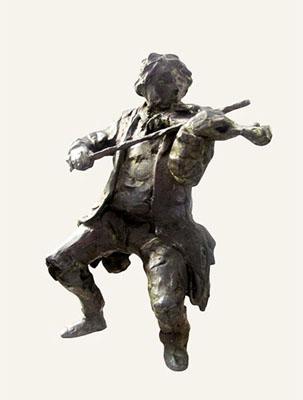 Rob-Houdijk-Violist-brons-H-32-cm