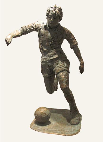 Rob-Houdijk-Voetballer-brons-H-80-cm
